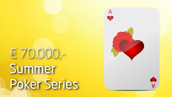 € 40.000,- Poker Summer Party