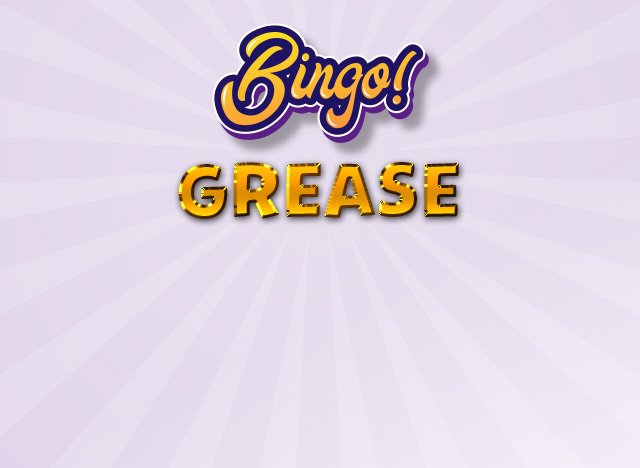 Grease Bingo auf win2day
