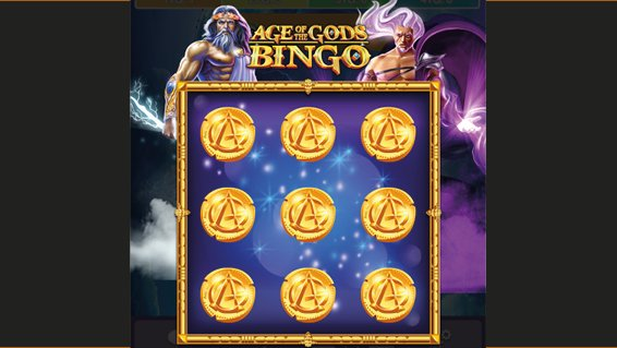 Bingo Age of the Gods